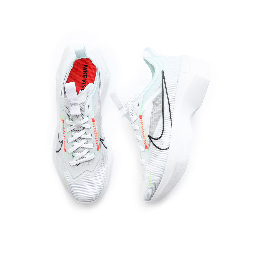 Nike Women's Vista Lite (White/Black/Bright Crimson-Barely Volt)