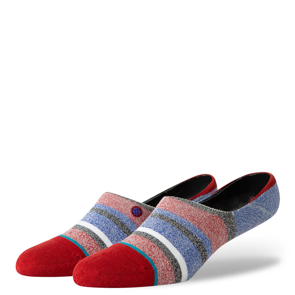Stance Noosa Super Invisible Socks (Red/Multi)