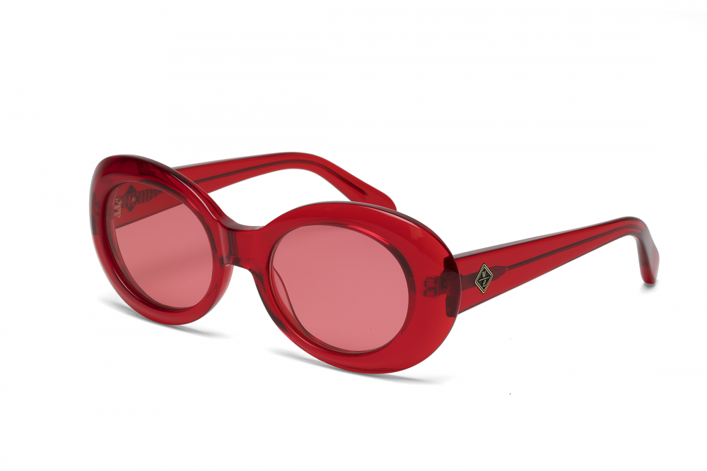 Wonderland Needles Sunglasses (Red Gel/Red)