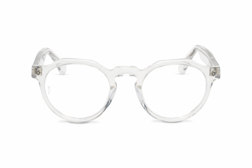 Wonderland Fontana Sunglasses (Clear/Clear) - Accessories - Eyewear