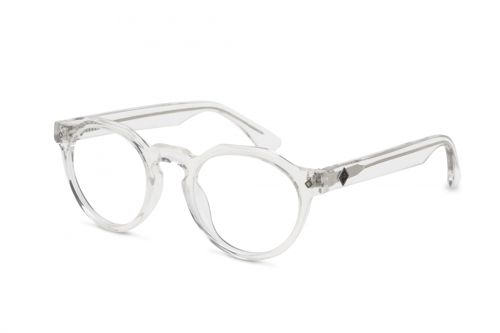 Wonderland Fontana Sunglasses (Clear/Clear)