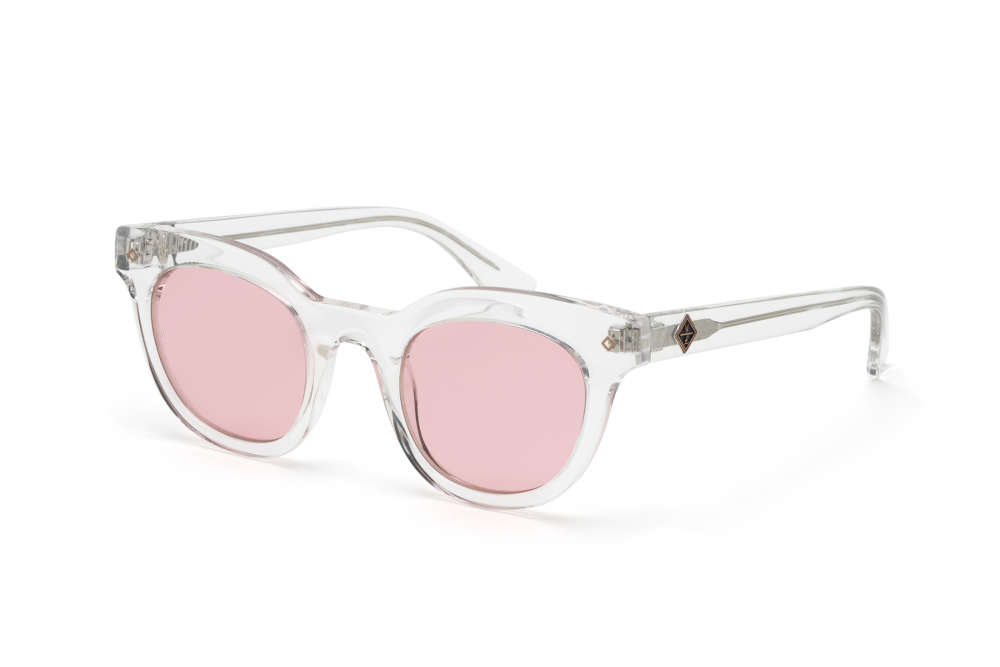 Wonderland Perris Sunglasses (Clear Beach Glass/Rose)