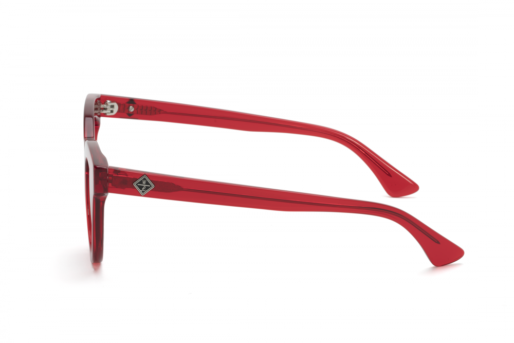 Wonderland Perris Sunglasses (Red Gel/Grey)