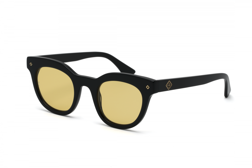 3e7a50c876ee Wonderland Perris Sunglasses (Gloss Black Yellow)