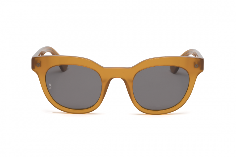 Wonderland Perris Sunglasses (Peach/Grey)