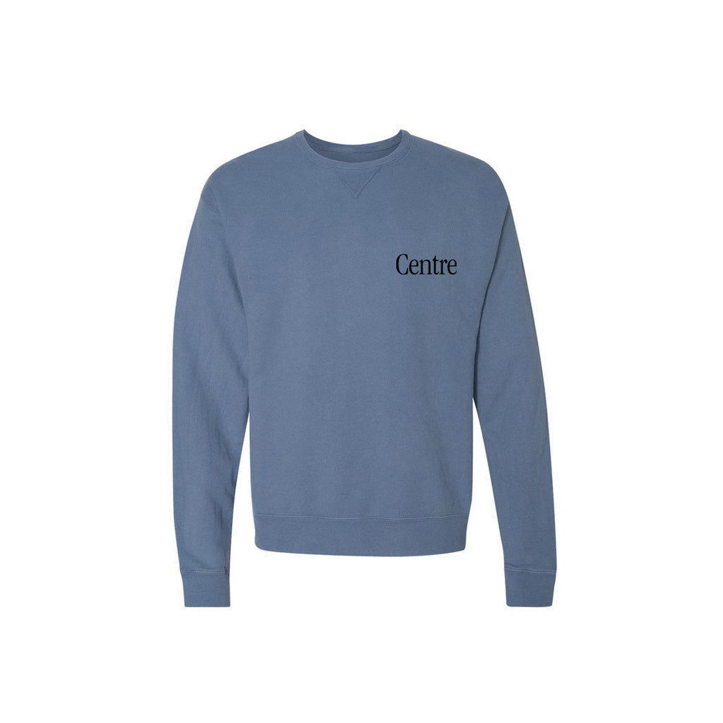 Centre Fort Worth Brick & Mortar Fleece Crew (Saltwater/Black)