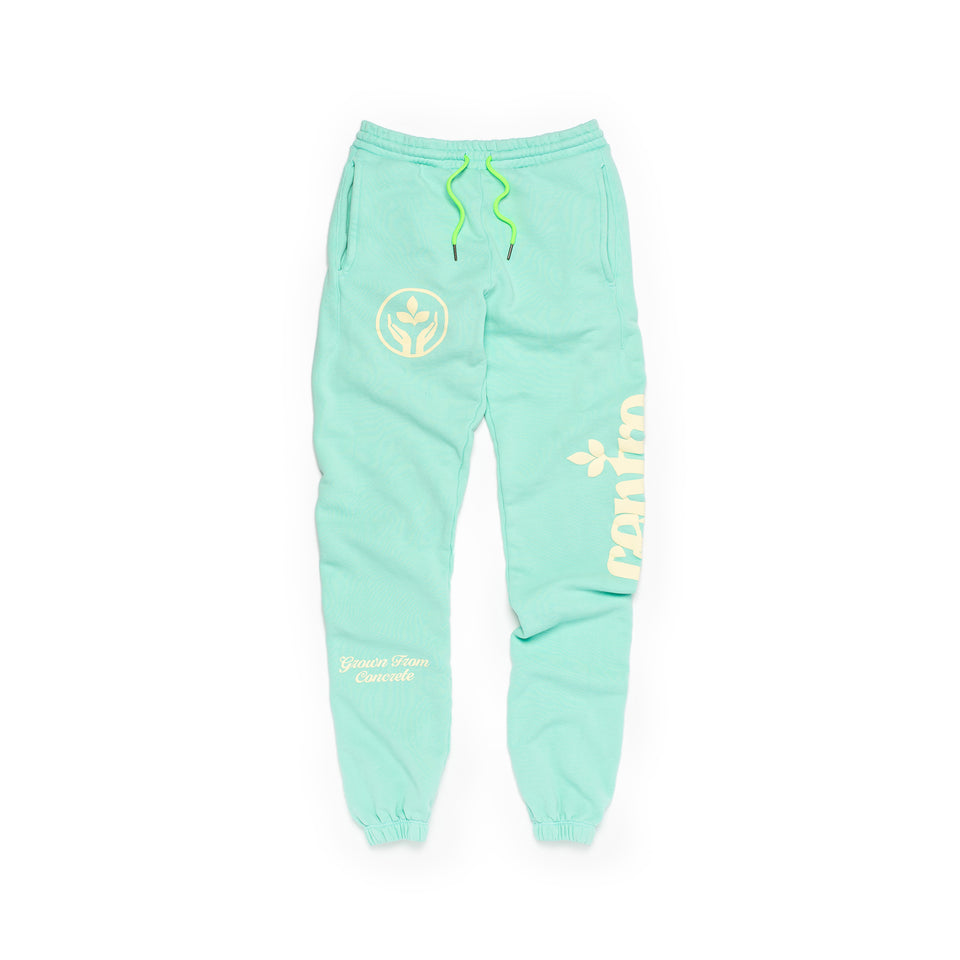 Centre Homegrown Fleece Pants (Seafoam) - Centre - Bottoms