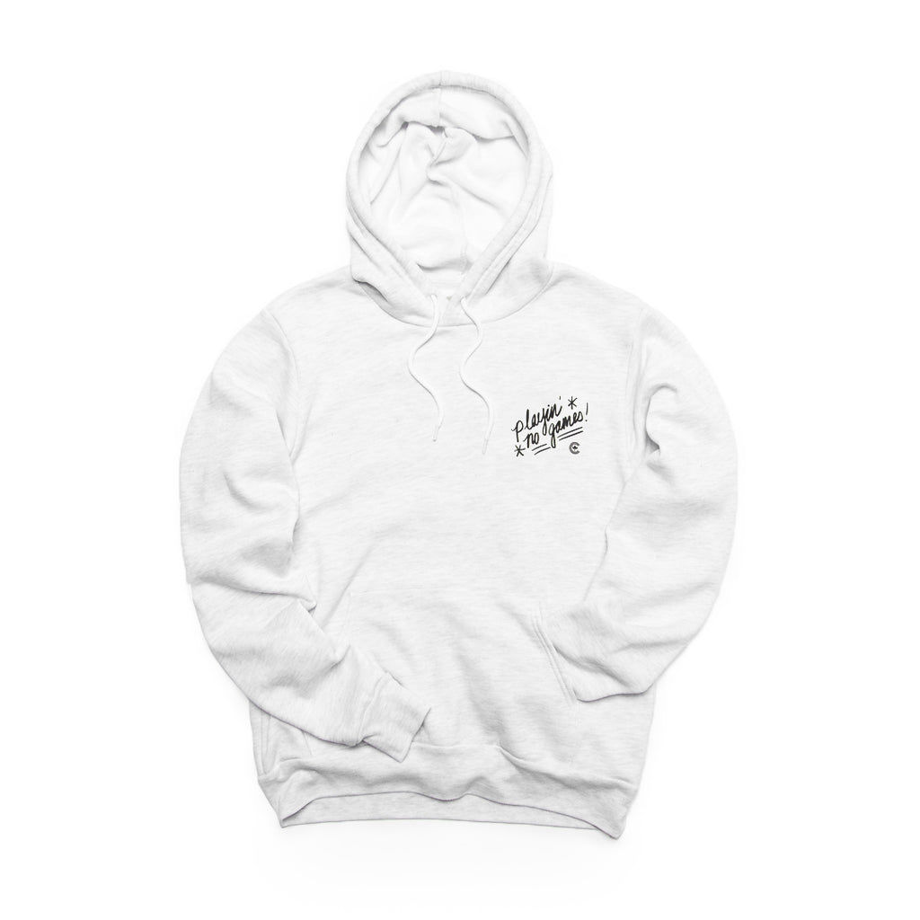 Centre Of Texas Sharks & Gorillas Hoodie (Ash)