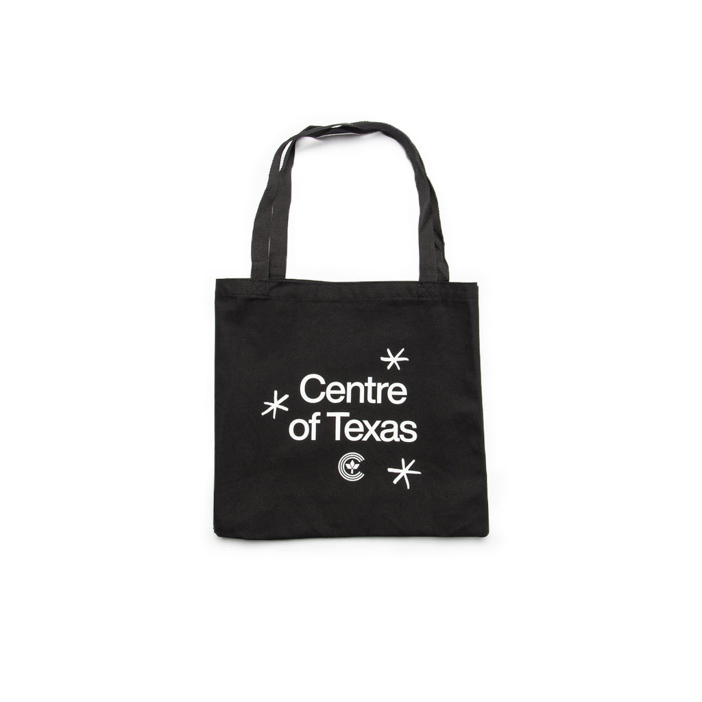Centre Of Texas Tote Bag (Black)