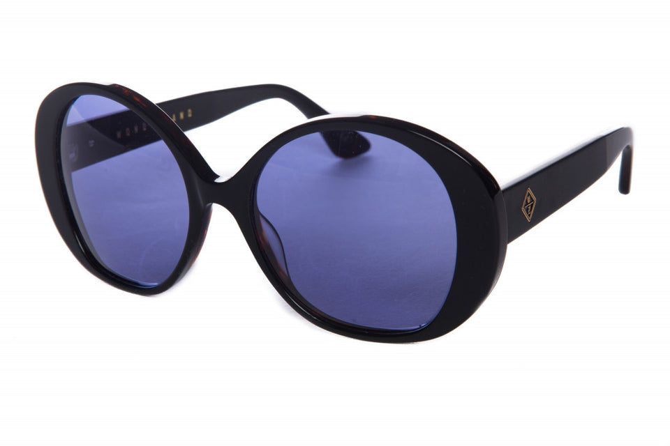 Wonderland Sun City (Dark Tortoise/Blue CZ) - Accessories - Eyewear