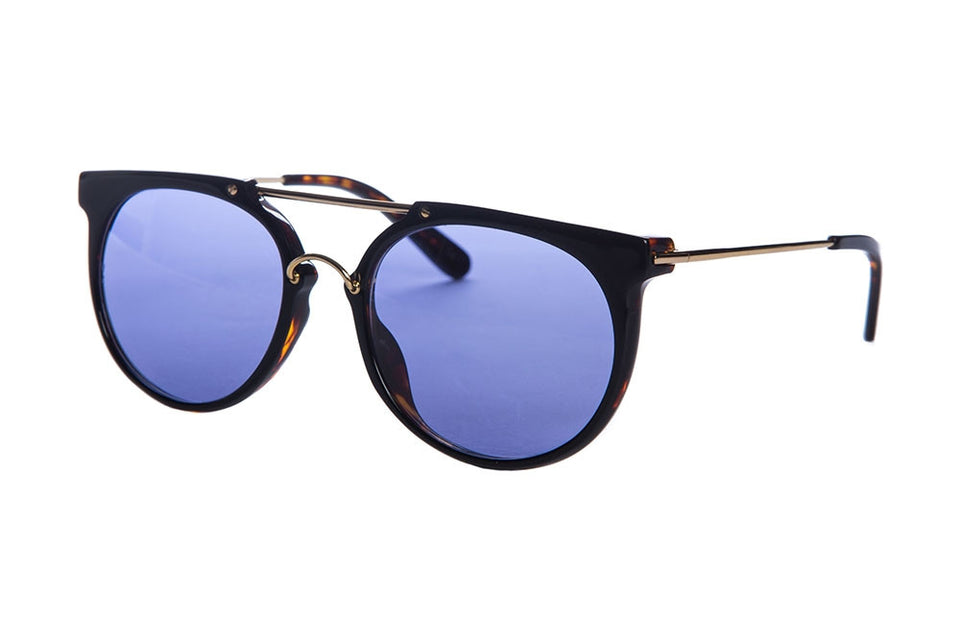 Wonderland Stateline (Dark Tortoise/Blue CZ) - Accessories - Eyewear