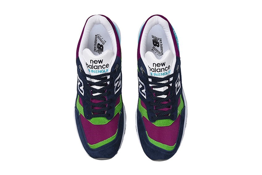 New Balance 1530 Made In England (Purple/Navy/Green) - New Balance 1530 Made In England (Purple/Navy/Green) -