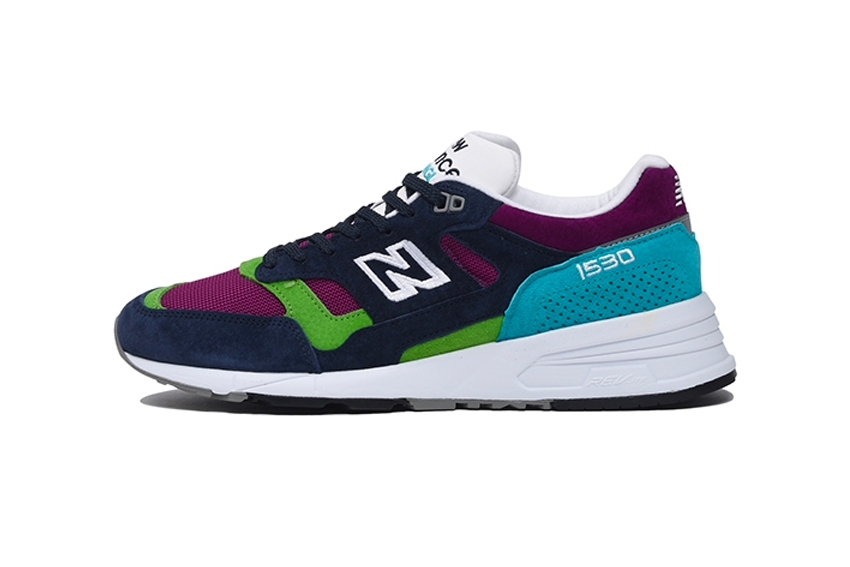 New Balance 1530 Made In England (Purple/Navy/Green)