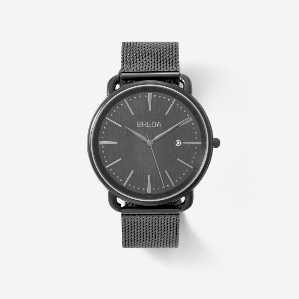 Breda Linx Watch (Black)