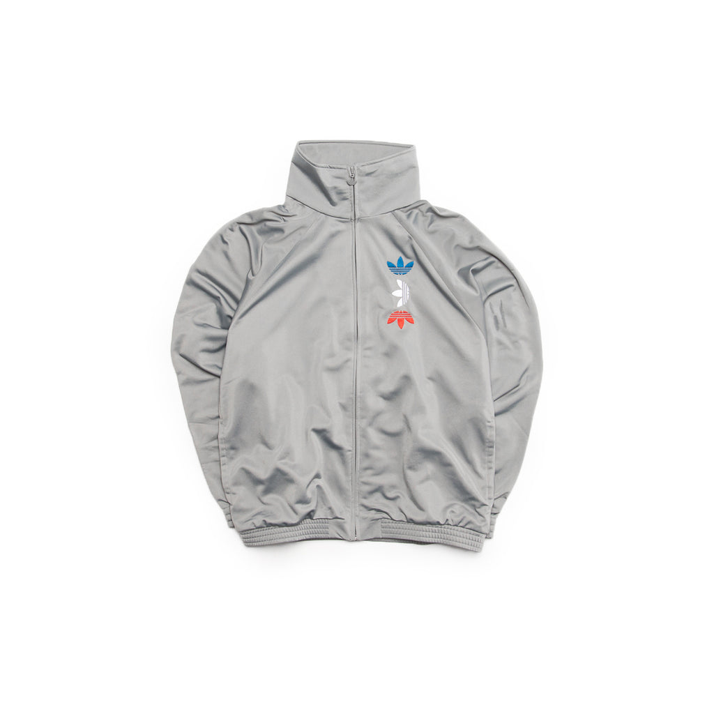 Adidas Originals Metallic Track Jacket (Grey/Multi)