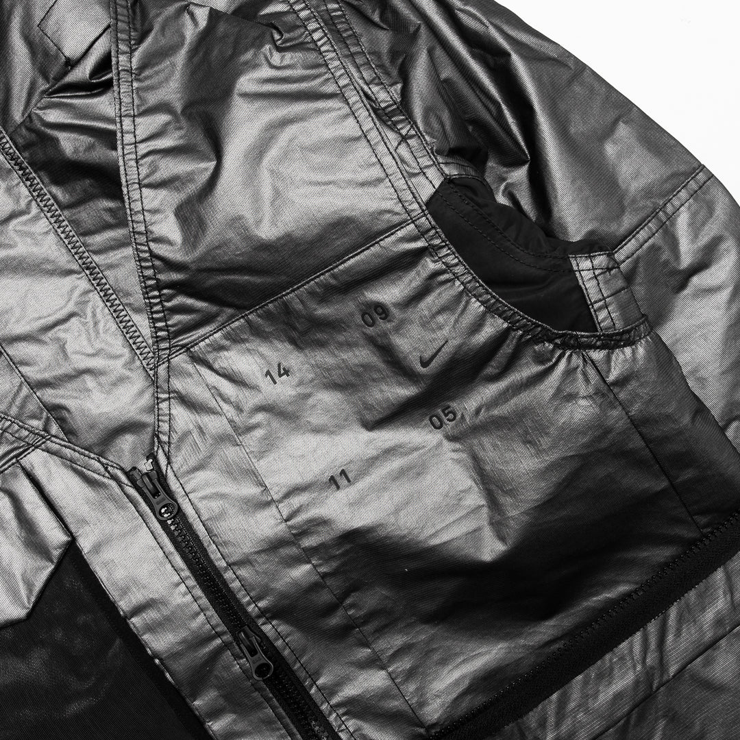 Nike Sportswear Tech Pack Synthetic-Fill Jacket (Metallic Silver/Black-Reflective Silver) - Nike Sportswear Tech Pack Synthetic-Fill Jacket (Metallic Silver/Black-Reflective Silver) -