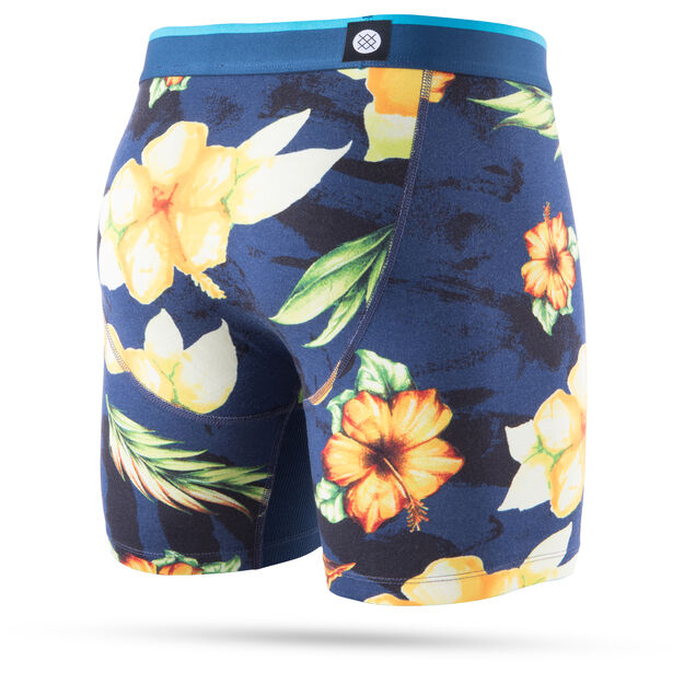Stance Hibiscus Smear Boxer Brief (Navy)