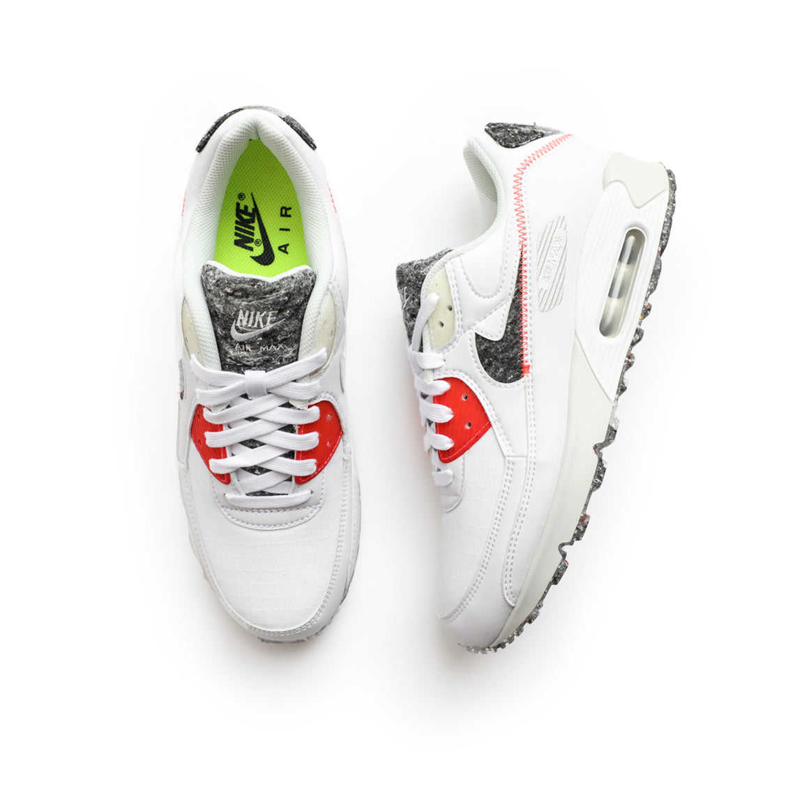 Nike Air Max 90 (White/Photon Dust/Bright Crimson) - Nike Air Max 90 (White/Photon Dust/Bright Crimson) -