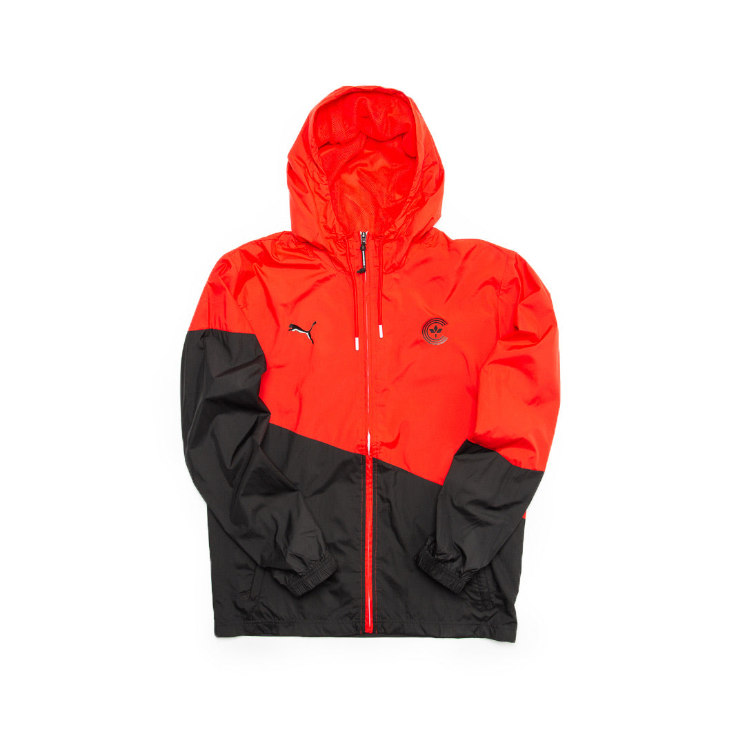 Centre X Puma Ace Windbreaker (Red/Black) - Centre X Puma Ace Windbreaker (Red/Black) -