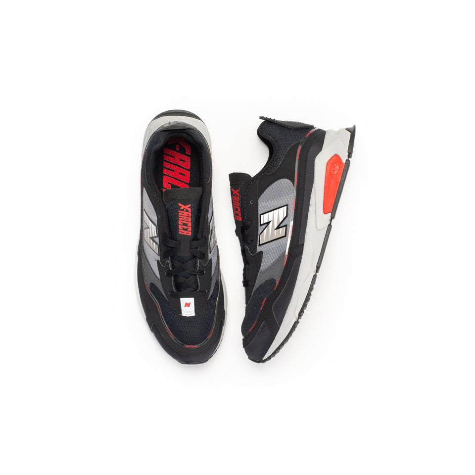 New Balance X-Racer (Black/Grey-Red) - New Balance