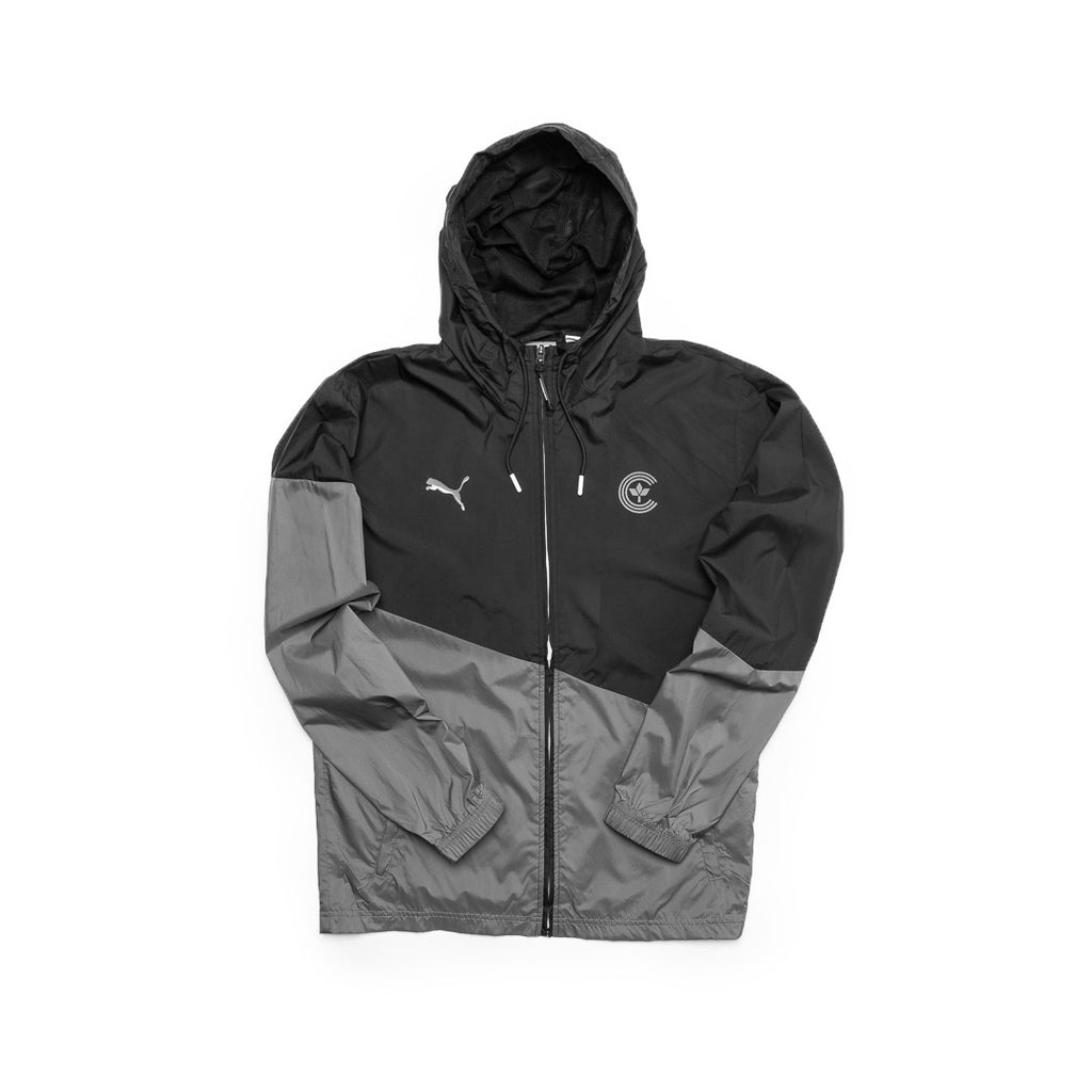 Centre X Puma Ace Windbreaker (Black/Grey)