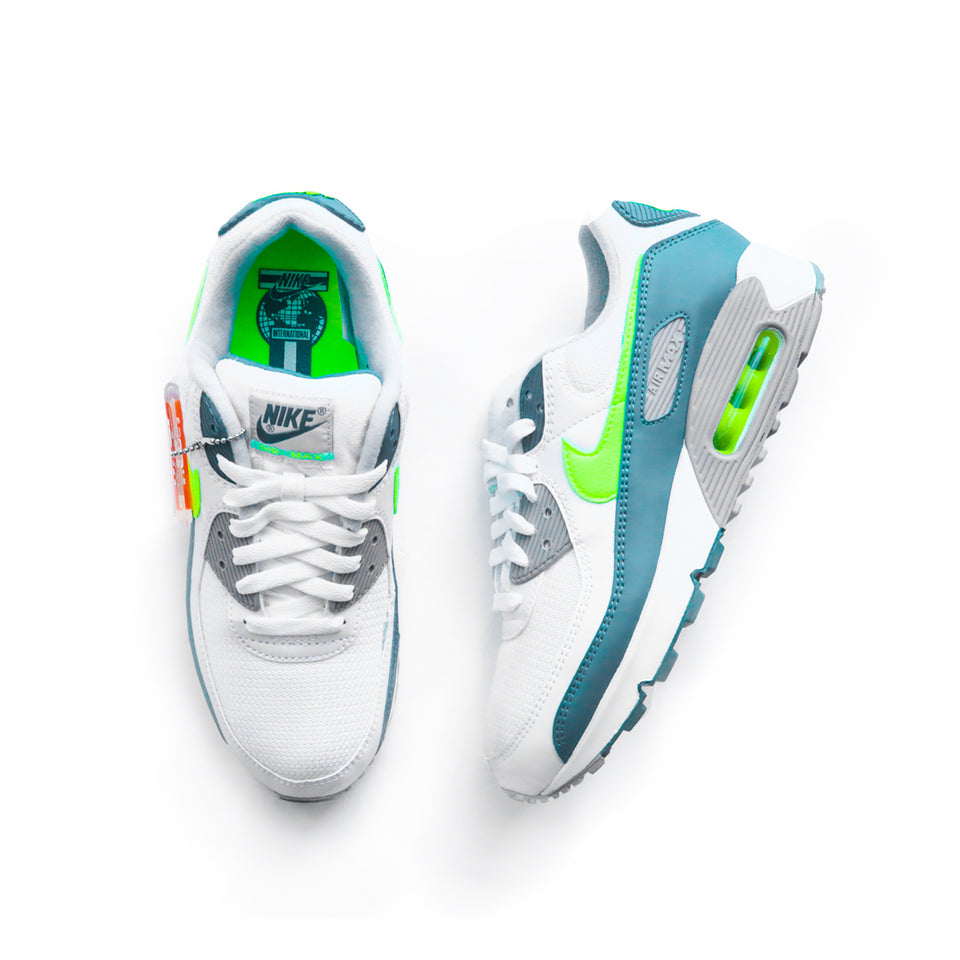 Nike Air Max 3 (White/Hot Lime/Spruce/Grey Fog) - giftcard