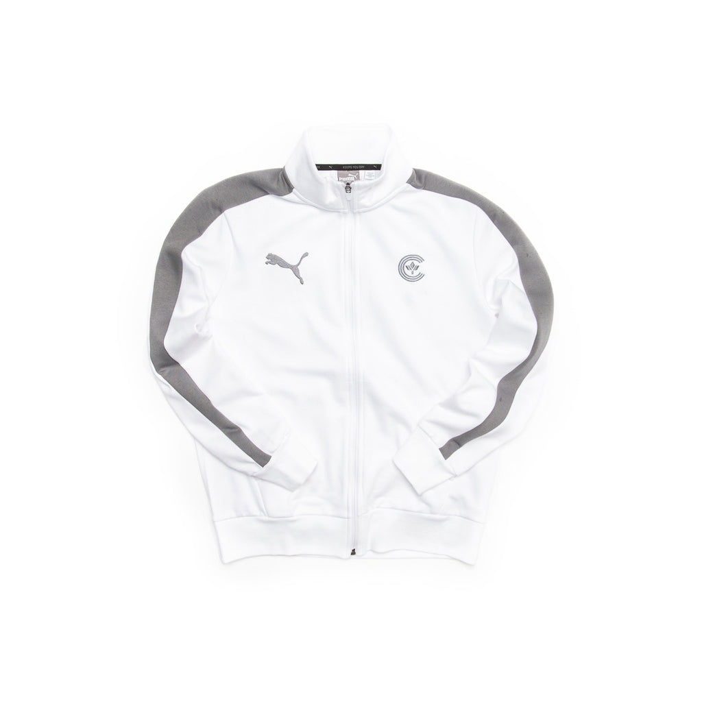 Centre X Puma Fleece Track Jacket (White)