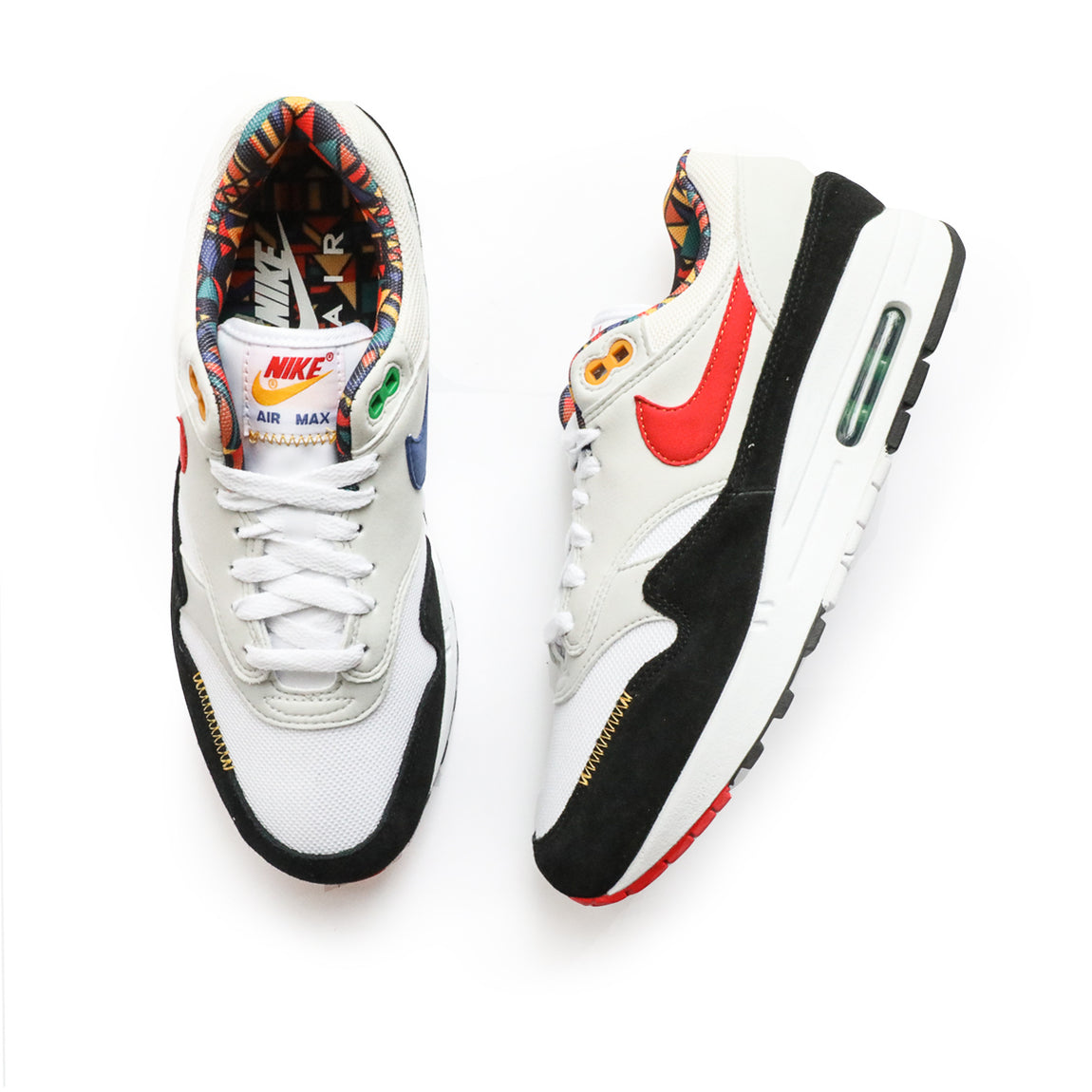 Nike Air Max 1 (White/Chile Red/Photon Dust) - Nike Air Max 1 (White/Chile Red/Photon Dust) -