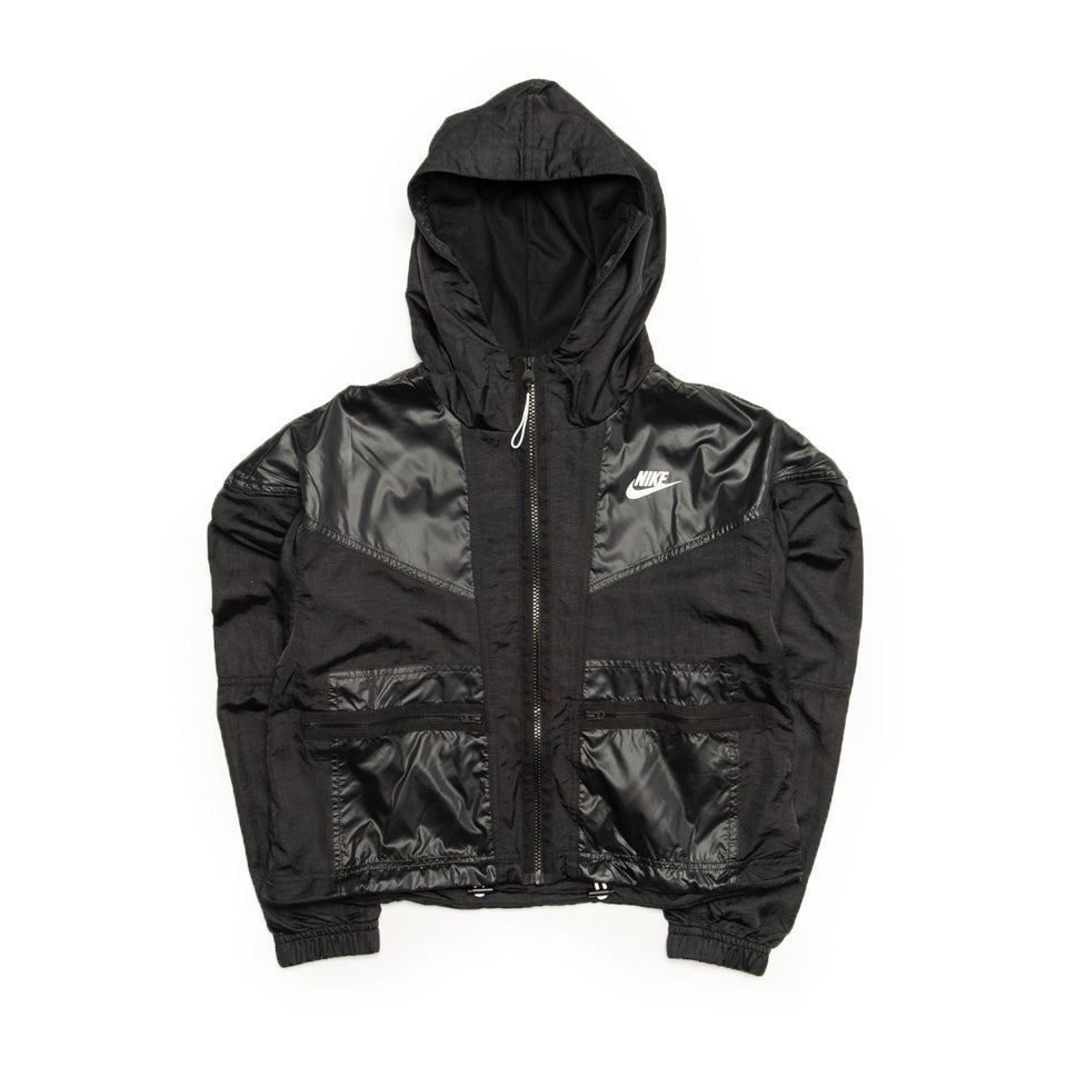 Nike Sportswear Windrunner (Black/White) - Women's - Jackets & Outerwear