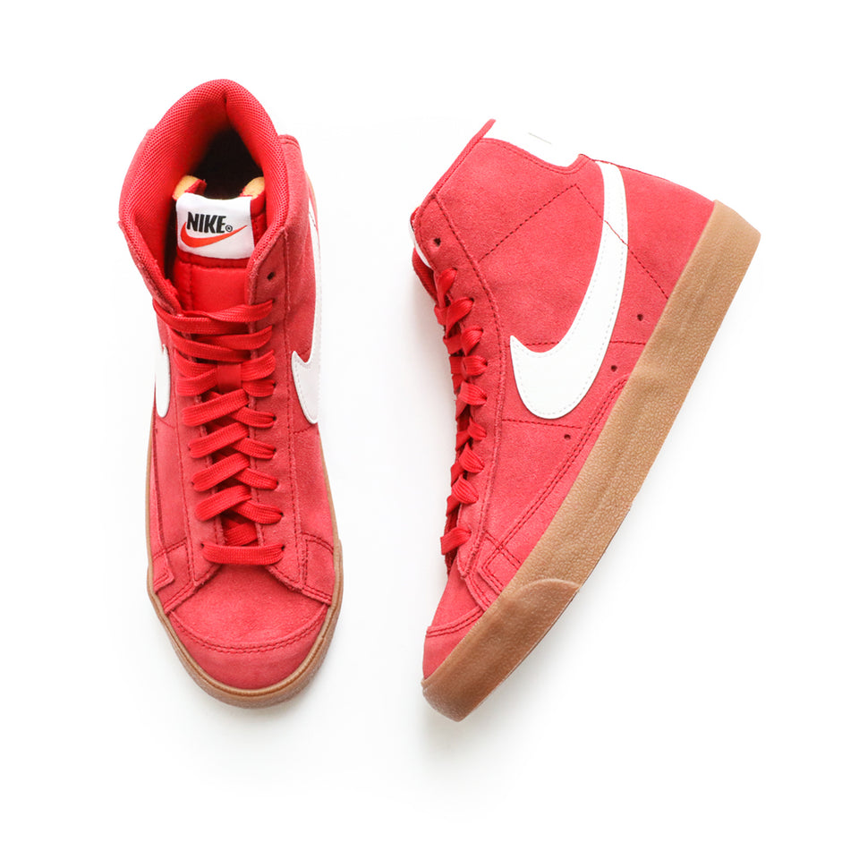 Nike Blazer Mid '77 Suede (University Red/Gum Brown/White) - Nike