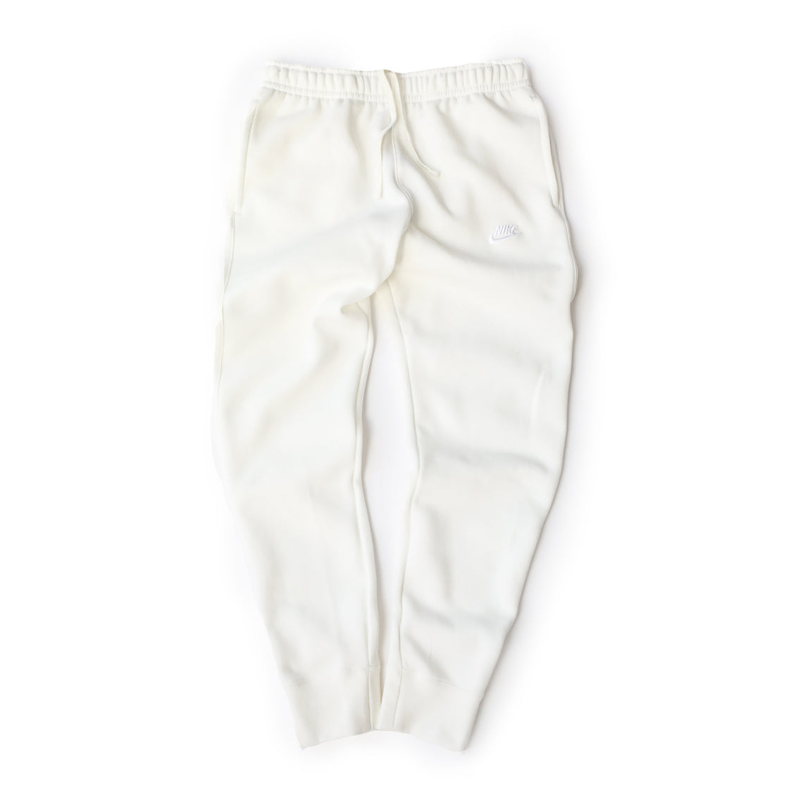 Nike Sportswear Club Fleece Pants (Sail/Sail-White) - Nike Sportswear Club Fleece Pants (Sail/Sail-White) -