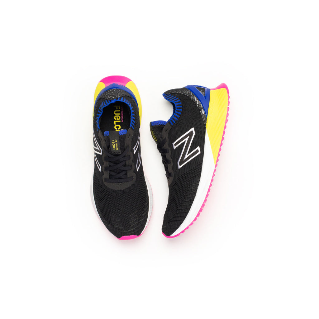 New Balance FuelCell Echo (Black/UV Blue-Sulphur Yellow)