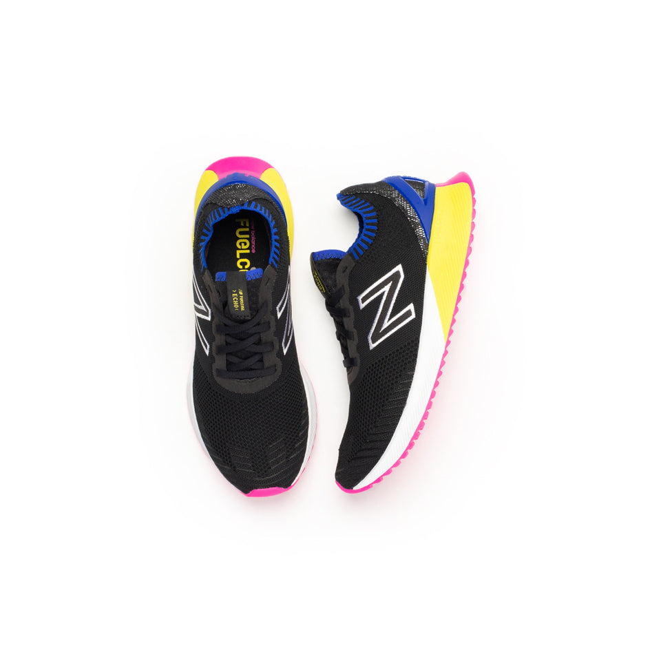 New Balance FuelCell Echo (Black/UV Blue-Sulphur Yellow) - New Balance