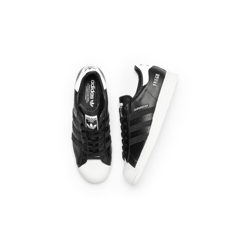 Adidas Superstar (Core Black/Core Black-Off White)