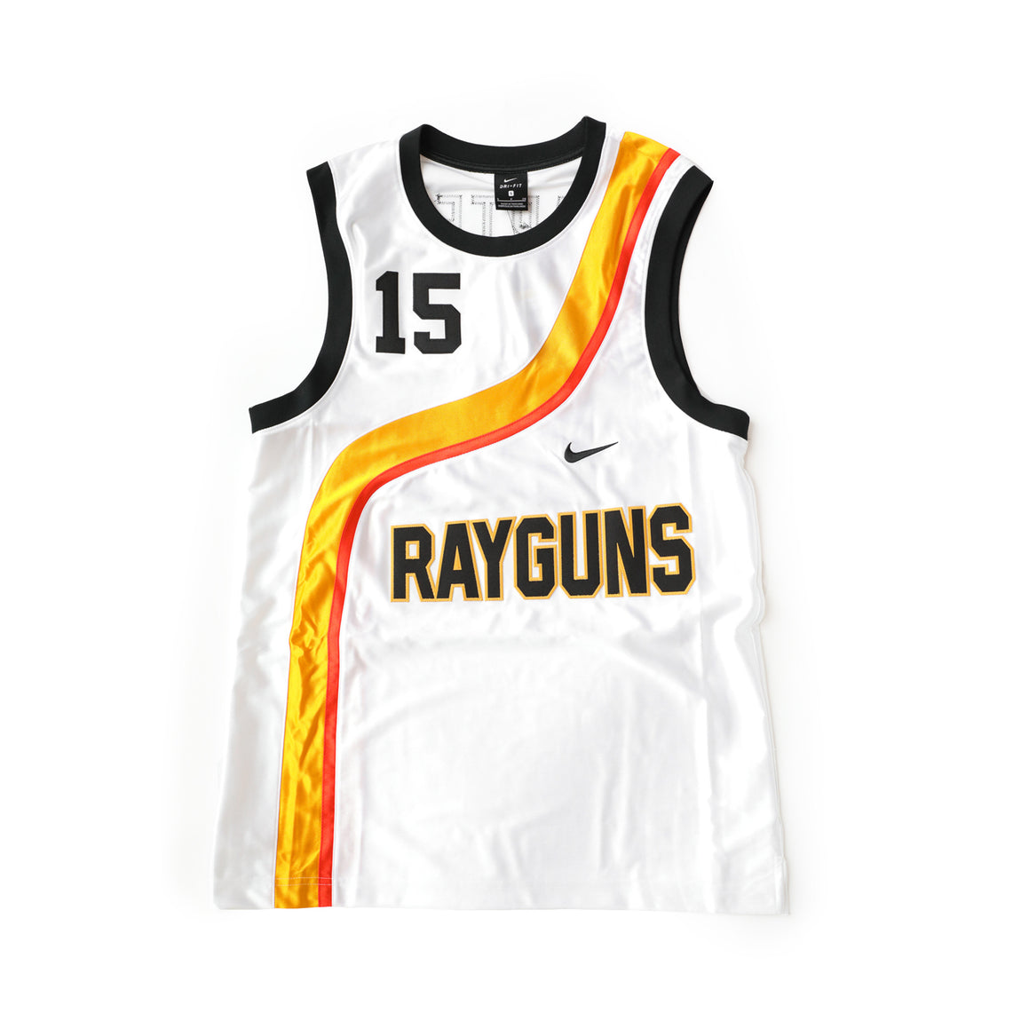 Nike Rayguns Jersey (White/University Gold/Team Orange-Black) - Nike Rayguns Jersey (White/University Gold/Team Orange-Black) -