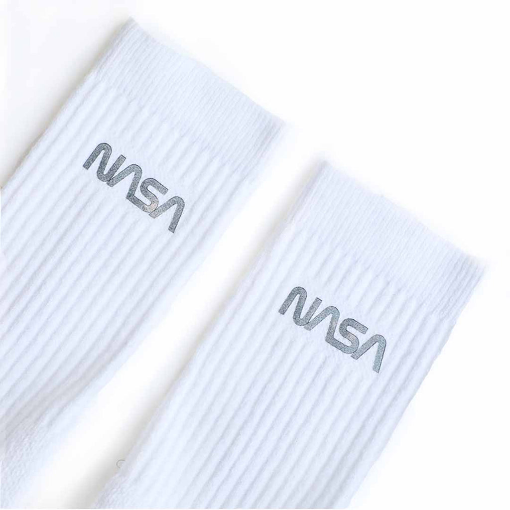 Nike PG x NASA Elite Crew Socks (White/Blue/Orange)