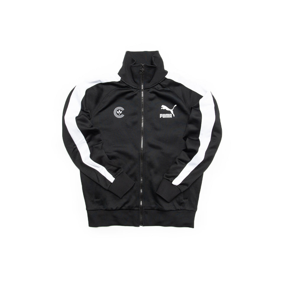 Centre X Puma Iconic Track Jacket (Black) - Men's - Jackets & Outerwear