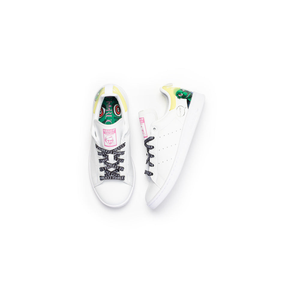 Adidas x Fiorucci Women's Stan Smith (Cloud White/Core Black- Cloud White) - Adidas