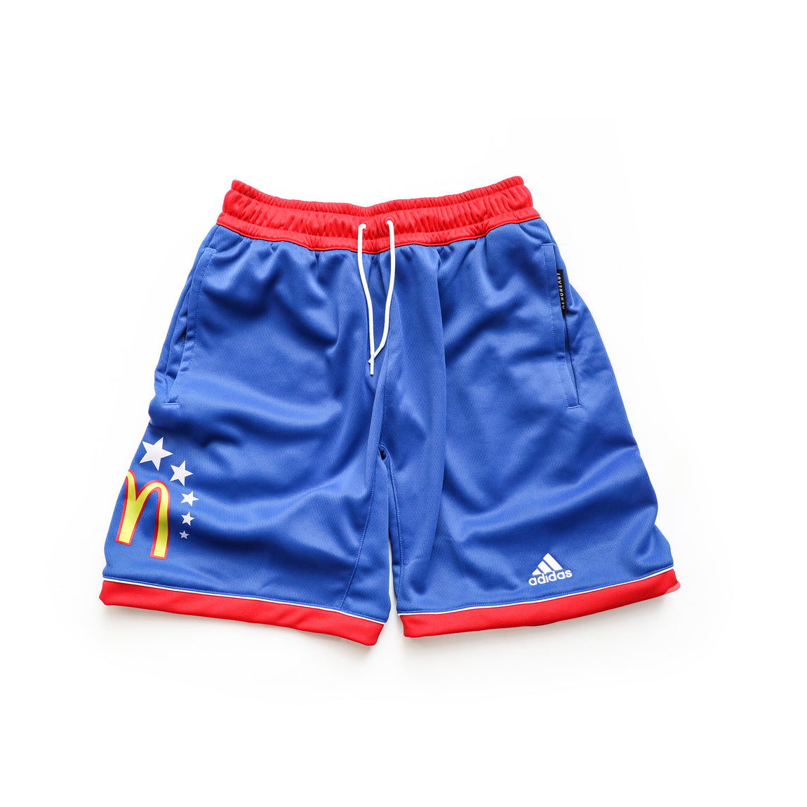 Adidas McDonald's All American Jamfest Shorts (Blue/Red) - Adidas McDonald's All American Jamfest Shorts (Blue/Red) -