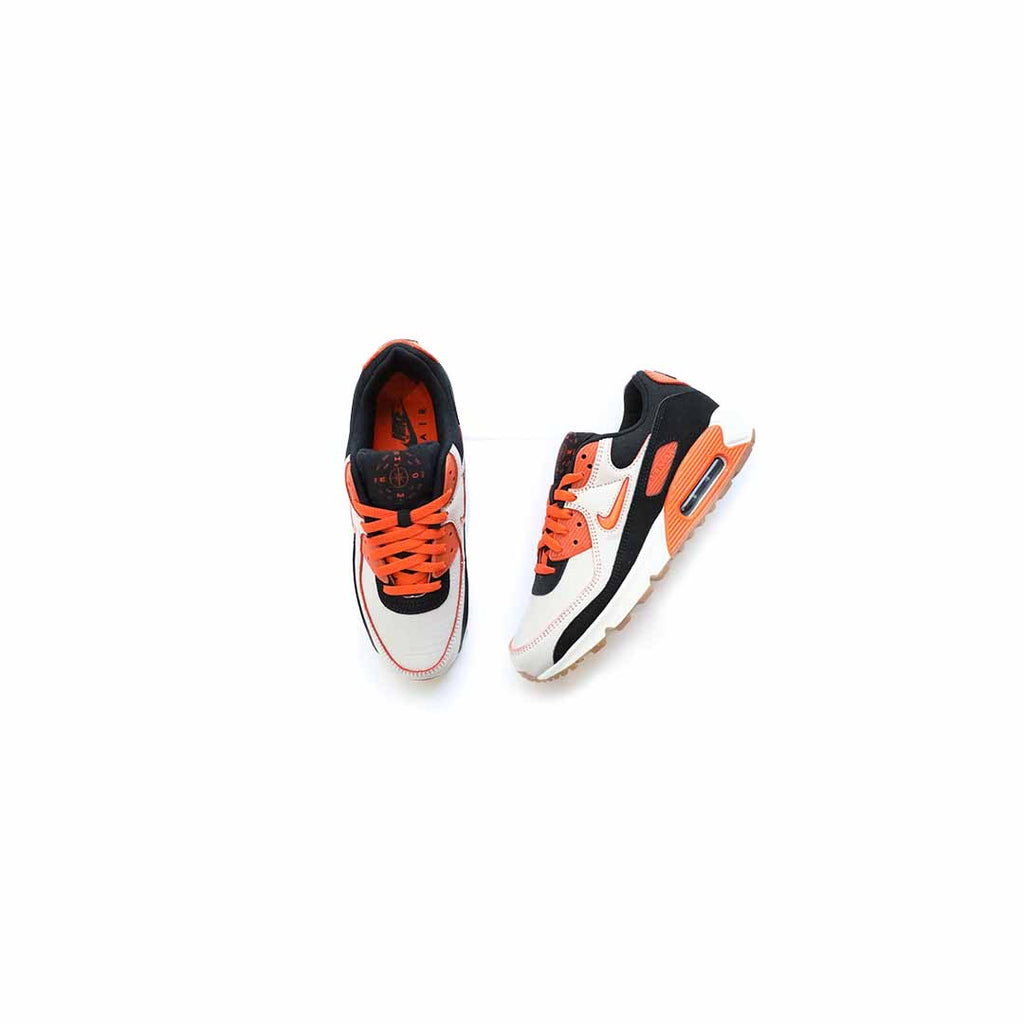 Air Max 90 PRM (Sail/Safety Orange-Black)