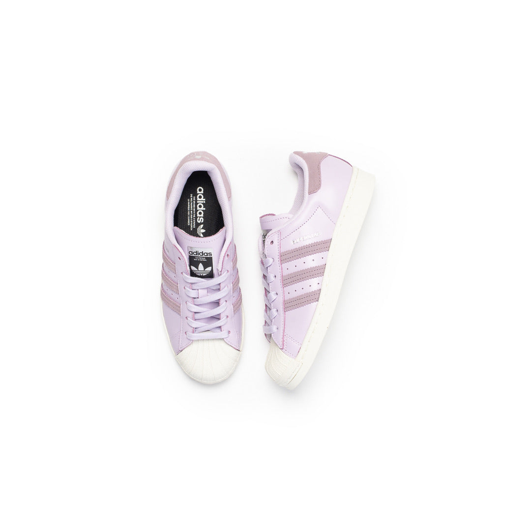 Adidas Women's Superstar (Purple Tint/Legend Purple-Off White) - Adidas Women's Superstar (Purple Tint/Legend Purple-Off White) -