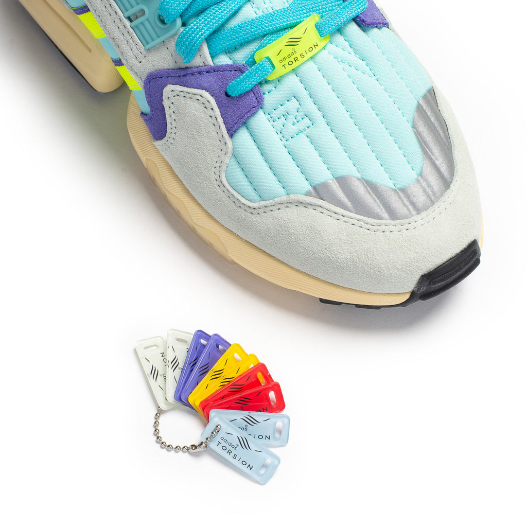 Adidas ZX Torsion (Clay Aqua/Yellow/Purple)