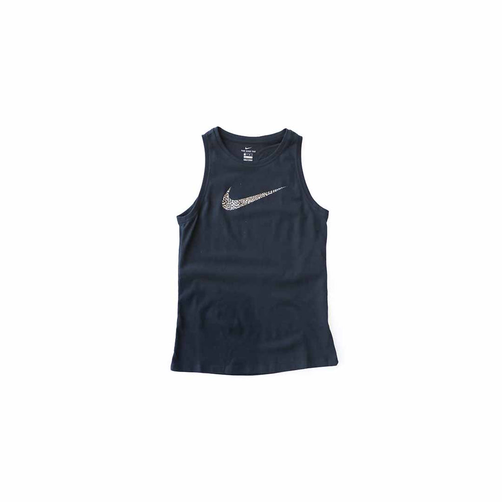 Nike Women's Dri-Fit Leopard Tank (Black)