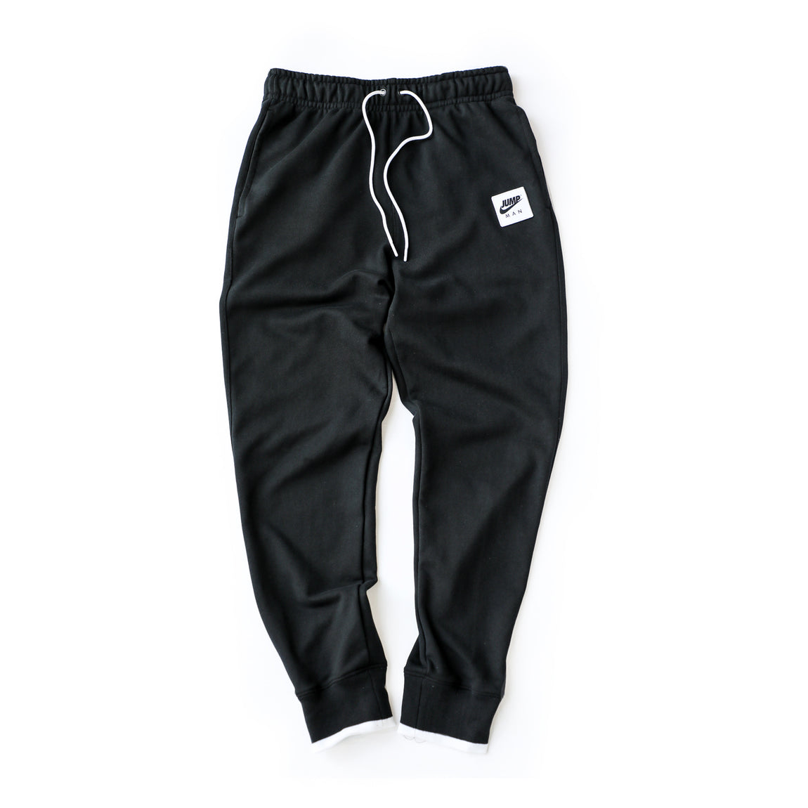 Jordan Jumpman Classics Fleece Pants (Black/White) - Jordan Jumpman Classics Fleece Pants (Black/White) -