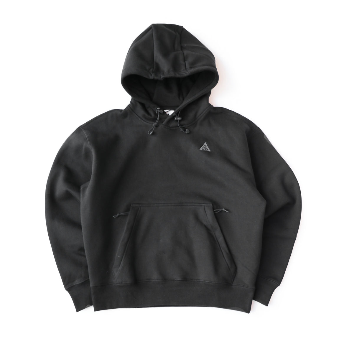 Nike ACG Pullover Fleece Hoodie (Black/Anthracite) - Nike ACG Pullover Fleece Hoodie (Black/Anthracite) -