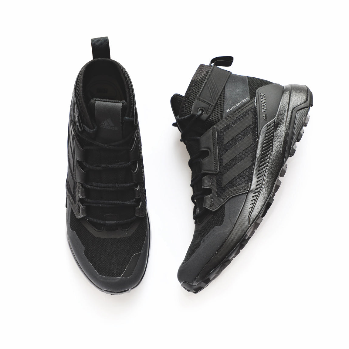 Adidas X Pharrell Williams Terrex Trail Maker Mid GORE-TEX (Black) - Adidas X Pharrell Williams Terrex Trail Maker Mid GORE-TEX (Black) -