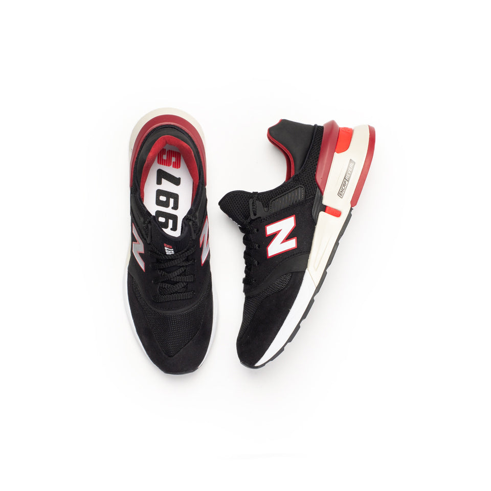 New Balance 997 Sport (Black/Red-White) - New Balance