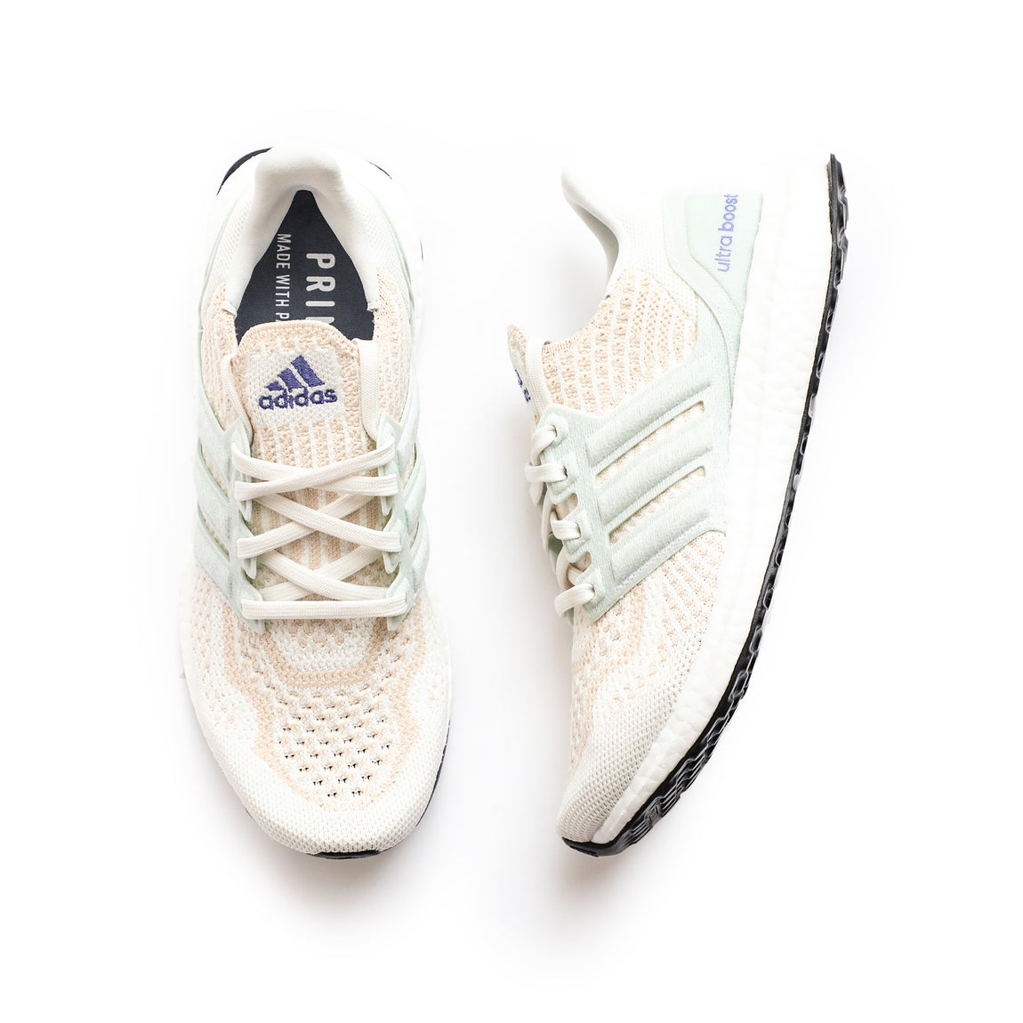 Adidas Women's Ultraboost 6.0 DNA (Non Dyed/White-Halo Ivory) - Adidas Women's Ultraboost 6.0 DNA (Non Dyed/White-Halo Ivory) -