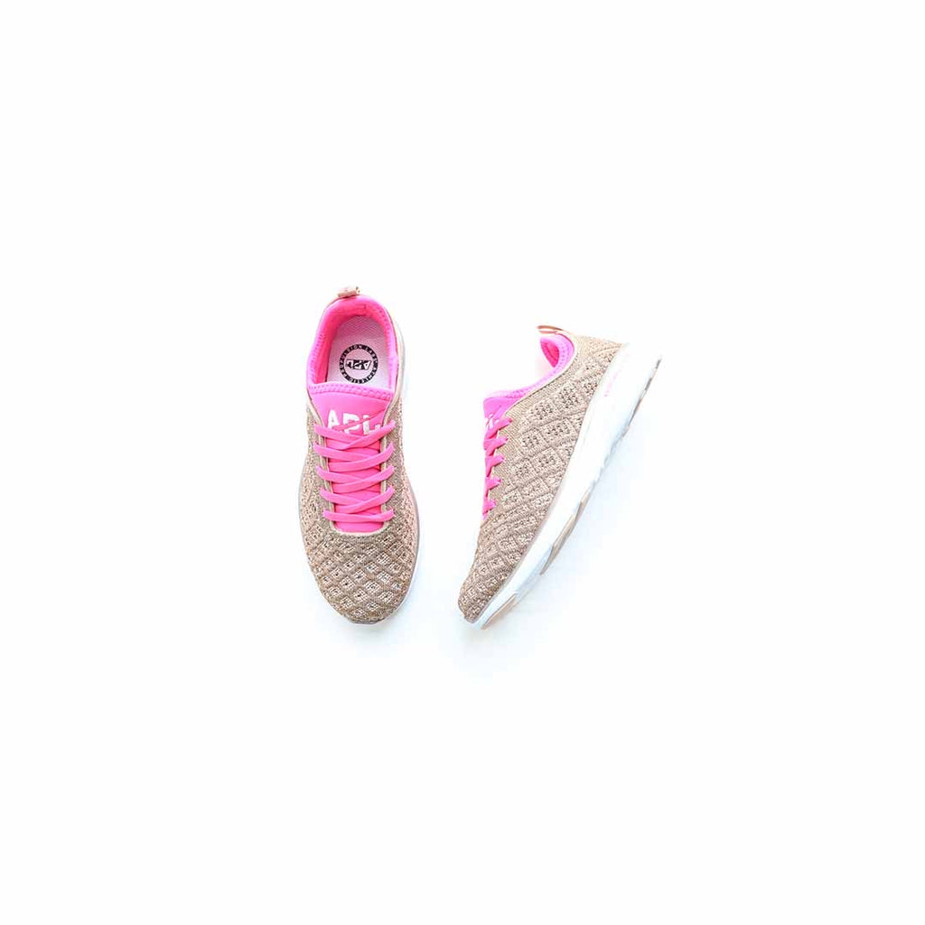 APL Women's Techloom Phantom (Rose Gold/Fusion Pink/White)