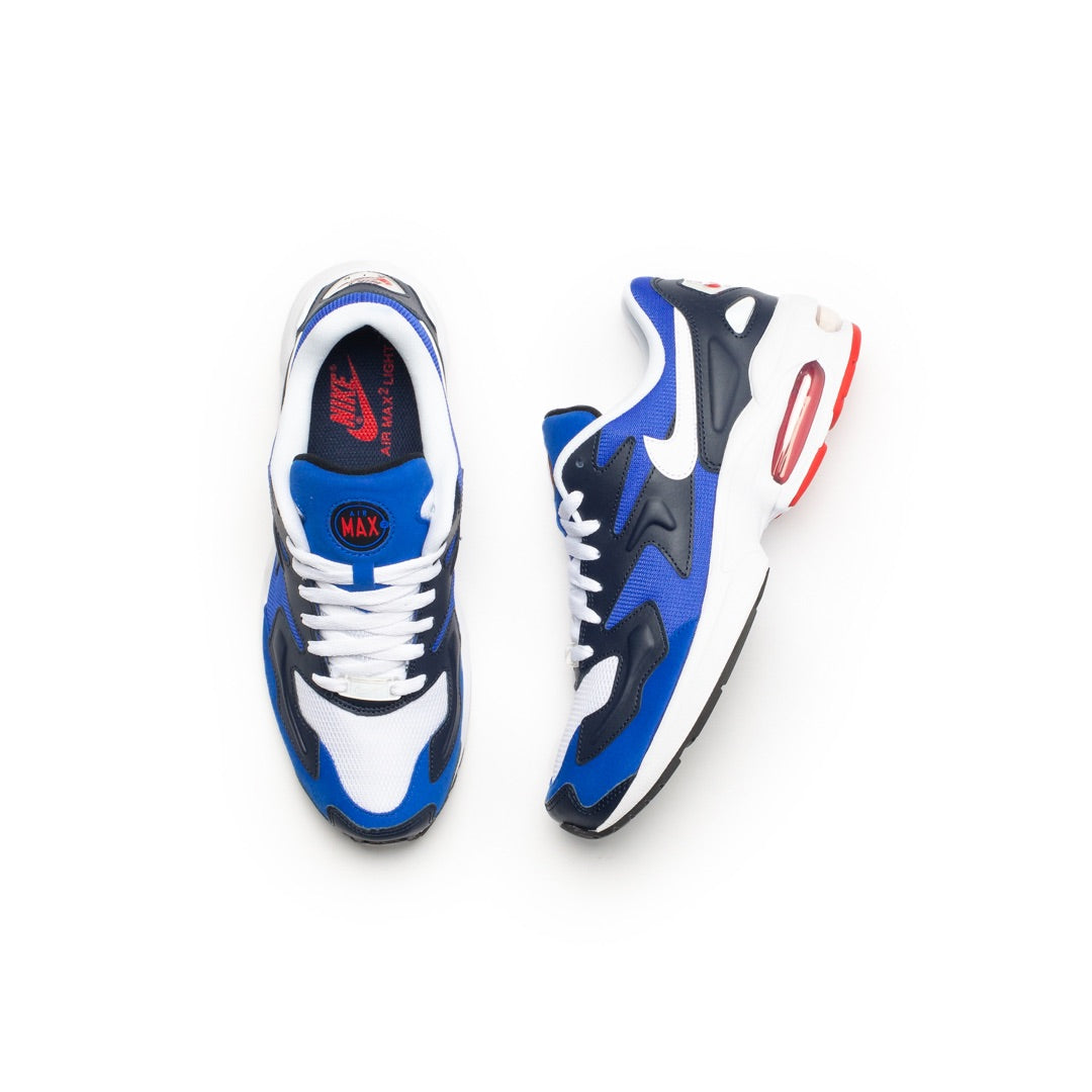 Nike Air Max 2 Light (Racer Blue/White/Obsidian) - Nike Air Max 2 Light (Racer Blue/White/Obsidian) -